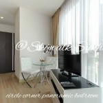 For rent - Skywalk condo Sukhumvit rd. - corner room -  glass-wall-circle bedroom 52sqm 38000 Bath per month