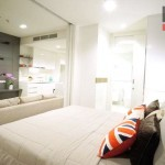 (เช่า) FOR RENT NARA 9 CONDOMINIUM / 1 bed / 40 Sqm.**32,000** Brand New Condo. High Floor. Amazing Decor. NEAR BTS CHONGNONSI