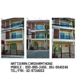 Now 3 storey Townhome/Townhouse Super Modern Style for sale near Donmuang Airport