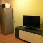 Condo For Rent Grand Parkview Asoke big bacony 15 Sq.M. With Bath tub 23K